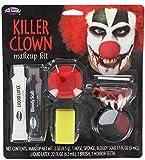 Killer Clown Makeup Kit Costume Makeup