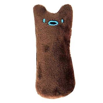 FOONEE Juguete para Masticar Gato, Juguetes para Gatos Interactivos Mint, Almohada Scratch Cat Chew Stick - Limpieza para Dientes Felinos, ...