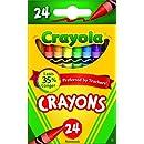 Crayola Crayons (Set of 24 Each)