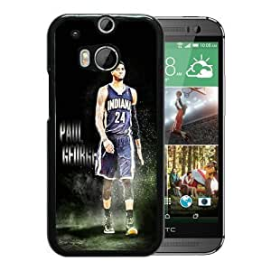 Generic NBA All Star Indiana Pacers Paul George Plastic Case for HTC One M9