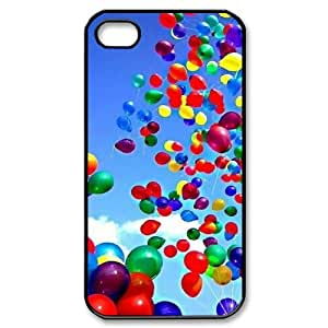 SHJFDIYCase Design DIY Happy Balloons Best Phone Case for Iphone 4,4S, DIY Phone Case SHJF-509029