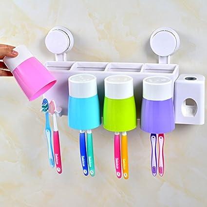 lfnrr alta calidad cajas de pasta de dientes Vaso cepillo de dientes en pared de pasta