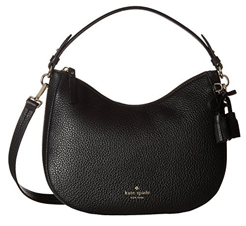 Kate Spade New York Women's Hayes Street Small Aiden Hobo Bag, Black, One Size