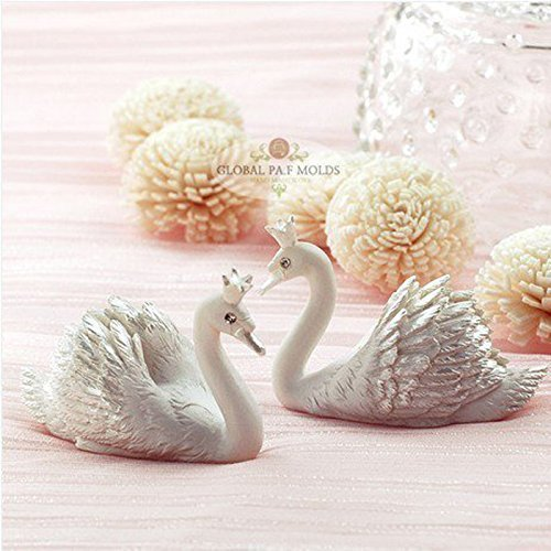 1 Piece 3d Elegant Crown Swan Mold 9 Sugarcraft Molds Polymer Clay Cake Border Mold Soap Molds Resin Candy Chocolate Cake Decorating Tools Crown Swan