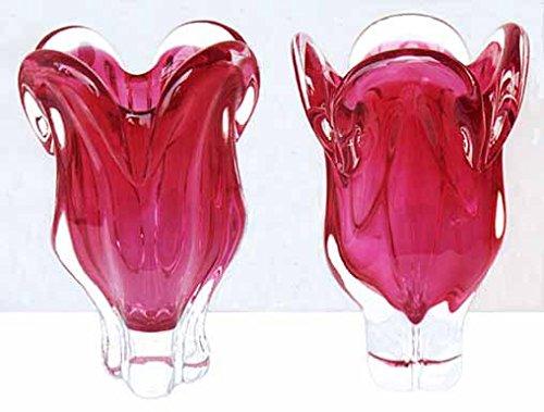 """Czech Vase """"Ruby"""""""