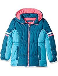 Girls' Colorblock Active Puffer
