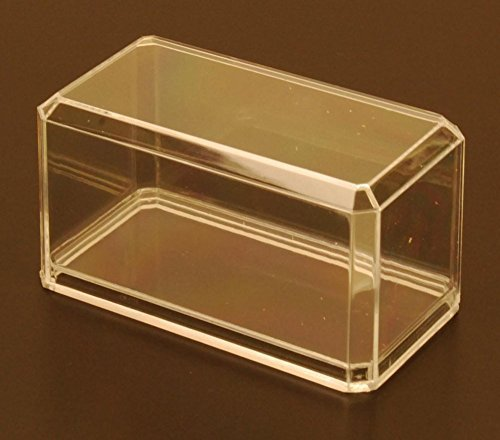 Acrylic Display Case for 1/64 Scale Diecast Model Toy Cars - PP164C - 6-PACK! - Dimension Diecast Car Display Case