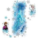 الغرف rmk2739gm Frozen الثلج Palace مع آخر و Anna قش ّ ر ْ والصق ْ Giant ملصقات الحائط