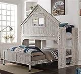 DONCO KIDS 770889 Low Loft Bed, White