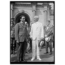LANSING, ROBERT. SECRETARY OF STATE, 1915-1920. GREETING DR. BRUM, MINISTER FROM URUGUAY