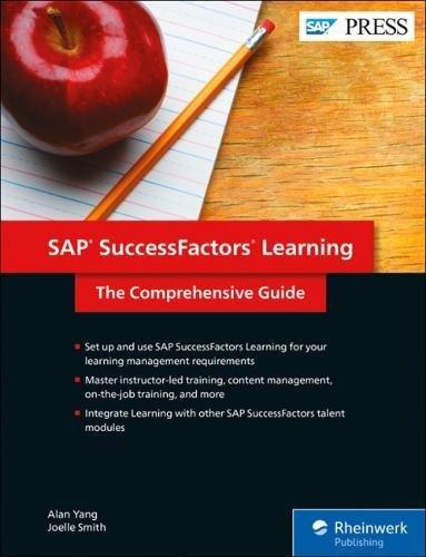 SAP SuccessFactors Learning: The Comprehensive Guide (SAP PRESS)