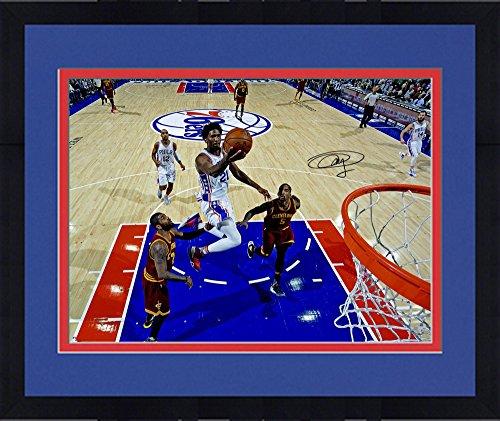 Framed Joel Embiid Philadelphia 76ers Autographed 16
