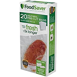 FoodSaver Quart-sized Bags New Value Pack Size 100 Count
