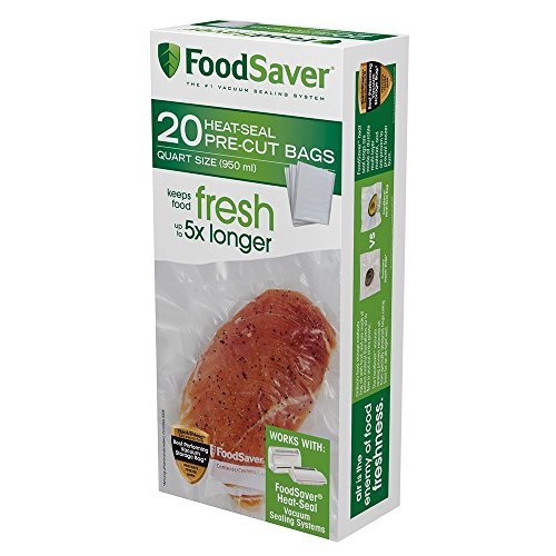 FoodSaver Quart-sized Bag Pack