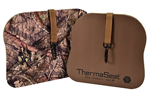 Predator Seat - THERM-A-SEAT Predator XT Hunting Seat Cushion, Mossy Oak Break-Up Country, Thick Large