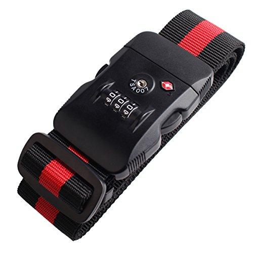Geekdigg 3 dial Luggage Adjustable Suitcase