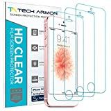 iPhone 5 Screen Protector, Tech Armor Anti-Glare/Anti-Fingerprint Apple iPhone 5C / 5S / 5 / SE Screen Protectors [3-Pack]