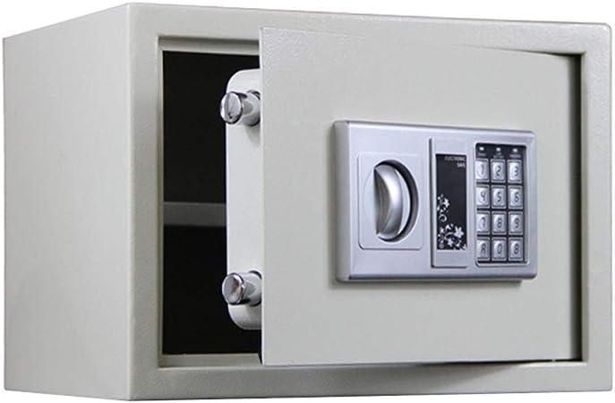 Sikungjlk Caja de Seguridad Digital Electrónicos de Acero Cajas Fuertes y Cajas de Bloqueo Digitales con Teclado for Objetos de Valor Dinero de la joyería para el hogar, la Oficina: Amazon.es: Hogar