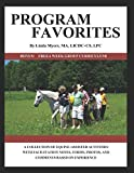 PROGRAM FAVORITES: A COLLECTION OF