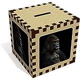 Azeeda 'Sitting Gorilla' Money Box / Piggy Bank (MB00003501)