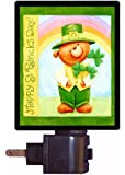 St. Patricks Day Night Light - St. Patty Bear