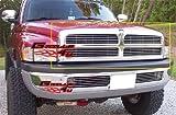 1996 dodge ram emblem - APS Fits 1994-2001 Dodge Pickup Main Upper Billet Grille Insert #D85030A