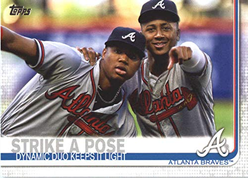 2019 Topps Series 2 Baseball #508 Ronald Acuna/Ozzie Albies Atlanta Braves Official MLB Trading Card