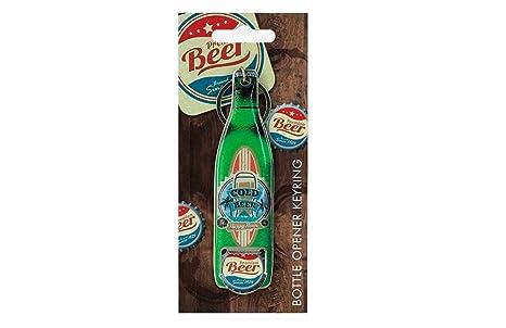 Llavero de abridor de botellas de tabla de surf de cerveza ...