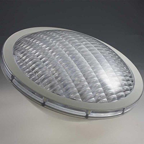 LED Poolbeleuchtung RGB Farbwechsel 18x3W PAR56 Edelstahl mit Fernbedienung