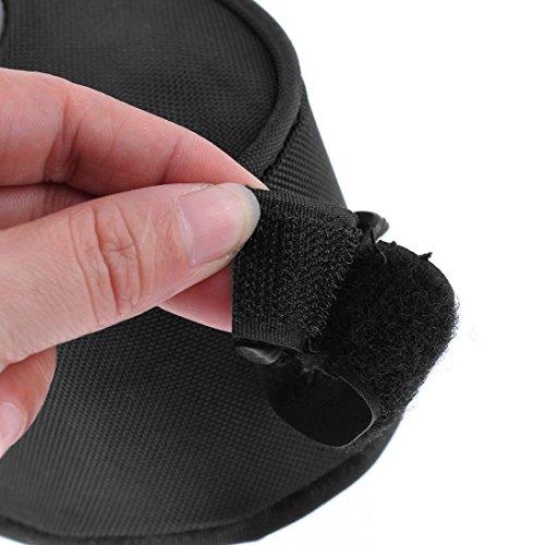 sourcingmap® Fahrrad Riemen auf Sitz Sattel Tasche Rückseite Schwanz Tasche