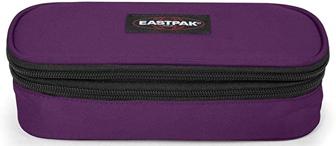 ASTUCCIO EASTPAK DOUBLE OVAL ART EK33D 28T POWER PURPLE: Amazon.es: Oficina y papelería