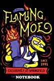 Notebook: Flaming Moe , Journal for Writing, College Ruled Size 6' x 9', 110 Pages