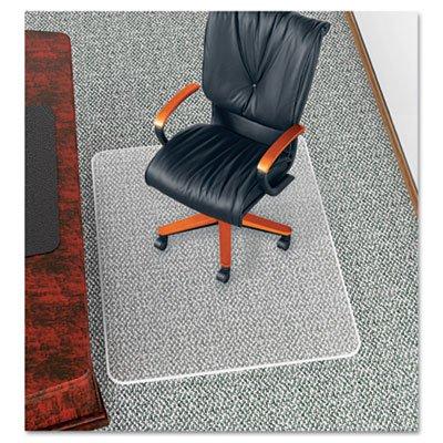 UltraMat Anti-Static Vinyl Chair Mat for Low/Deep Pile, Beveled, Clear Vinyl Anti Static Chair Mat