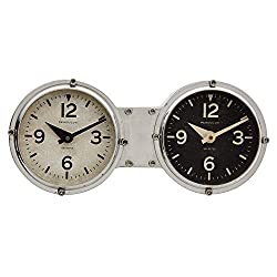 Dashboard Aluminum 10 Wide Table or Wall Clock