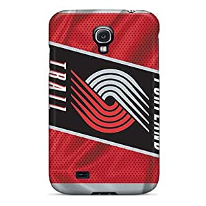 Cute Appearance Cover/tpu UeP310GCLY Portland Trail Blazers Case For Galaxy S4 by lolosakes