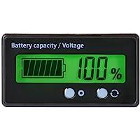 Medidor de Capacidad de la batería LCD,12V /