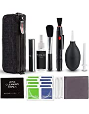 Rabbitstorm Camera Cleaning Kit 10 PCS for Most Cameras Optical Lens and Digital SLR Cameras, Lens Cleaning Kit for iPhone, MacBook, Airpords, Laptop and Other Electronics