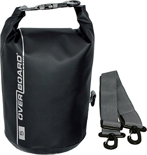 OverBoard Waterproof Dry Tube Bag with Adjustable Shoulder Strap for Boating, Kayaking, Fishing, Rafting, Swimming, Camping and Snowboarding   B01528RWFK