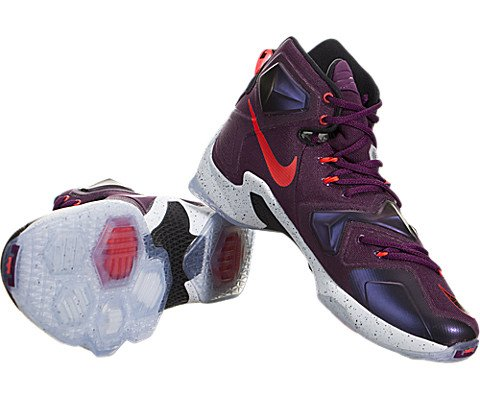 Pictures of Nike Men's Lebron XIII Mulberry/Blk/ 4