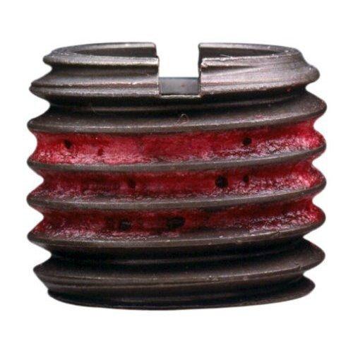 E-Z Lok Externally Threaded Insert, C12L14 Carbon Steel, Meets AISI 12L14, 5/16''-24 Internal Threads, 7/16''-14 External Threads, 0.437'' Length, Made in US (Pack of 10) by E-Z LOK