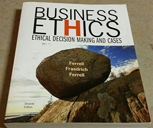 business ethics ferrell 11th edition pdf