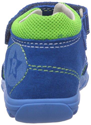 Richter Kinderschuhe Terrino 2118-521 Baby Jungen Lauflernschuhe Blau (lagoon/cactus neon  6911)