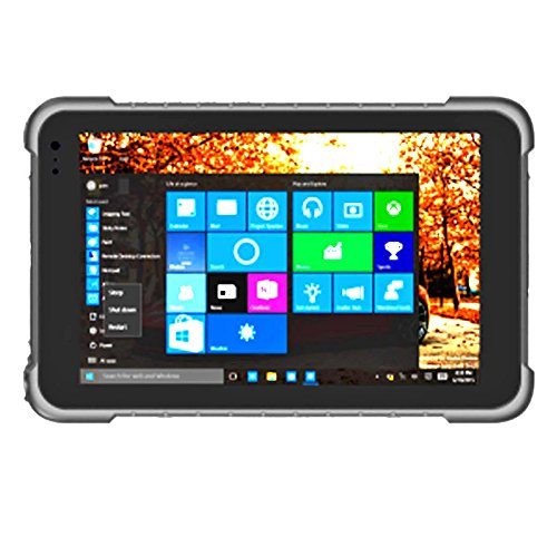Highton 8 inch Intel Bay-Tray Win10 OS 13Mplx Industrial tablet pc 3G/4G GPS NFC Waterproof pc Barcode Scanner waterproof computer