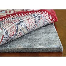 """Eco Plush TM 1/2"""" Felt Rug Pad by Rug Pad USA, Preserve & Protect, Cushioned Rug Padding SAFE FOR ALL FLOORS - 20 YEAR WARRANTY (5' Round)"""