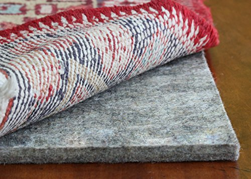 Eco Plush 1/2'' Felt Rug Pad by Rug Pad USA, Preserve & Protect, Cushioned Rug Padding SAFE FOR ALL FLOORS - 20 YEAR WARRANTY (8x10) by Rug Pad USA