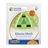 Learning Resources LER6965-A1 Minute Math Electronic Flash Card