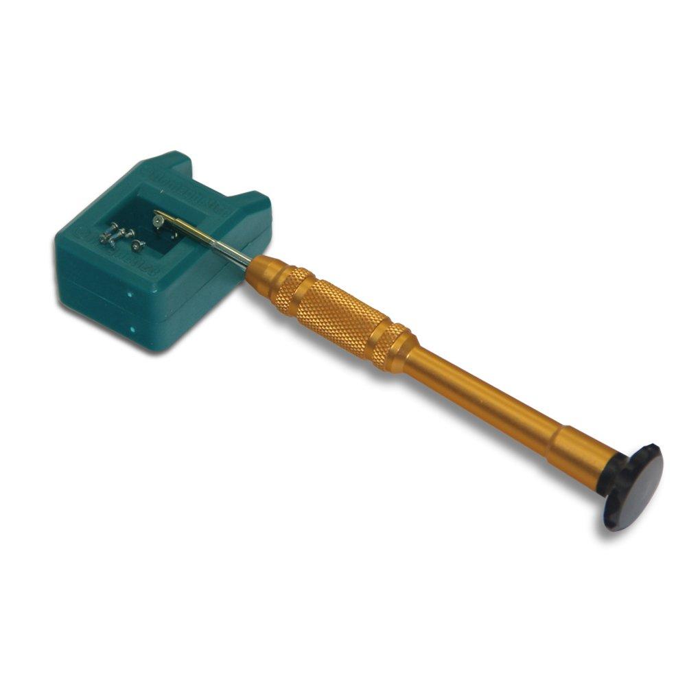 Ewparts 5 in 1 Premium Qualit/ät 0.6mm Y Tip Tri-Point Tri Fl/ügel Schraubendreher Reparatur und Sanierung /Öffnungswerkzeuge Entmagnetisierer Schraubendreher Kit Set f/ür iPhone 7//7 plus