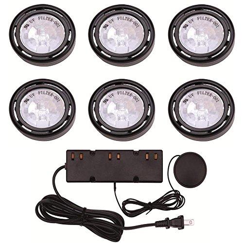 Hampton Bay 6 Light Black Under Cabinet Xe 1.1