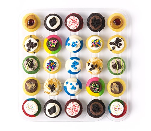 Baked by Melissa Cupcakes The Latest & Greatest - Assorted Bite-Size Cupcakes, 25 (Kosher Baked Goods)