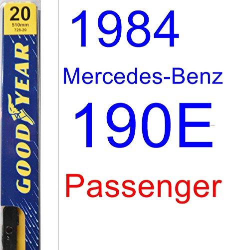 1984 Mercedes-Benz 190E Wiper Blade (Passenger) (Goodyear Wiper Blades-Premium) ()